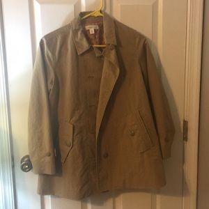 Safari trench coat